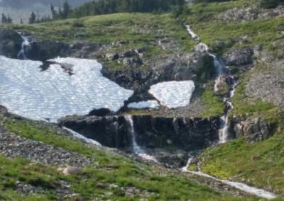 Summer 2017 mountain water